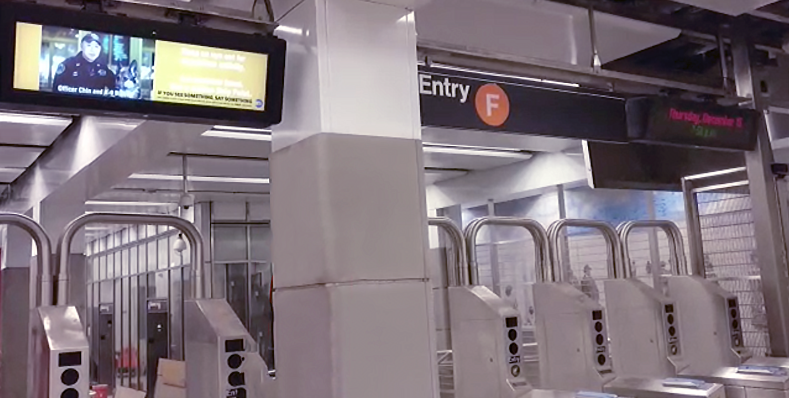 Display Solari per la 2nd avenue subway